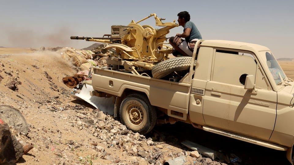 معارك عنيفة ضد الميليشيا الحوثية جنوب مأرب والمبعوث الأممي يؤكد على أهمية إنهاء العنف في اليمن والدخول في عملية سياسية شاملة